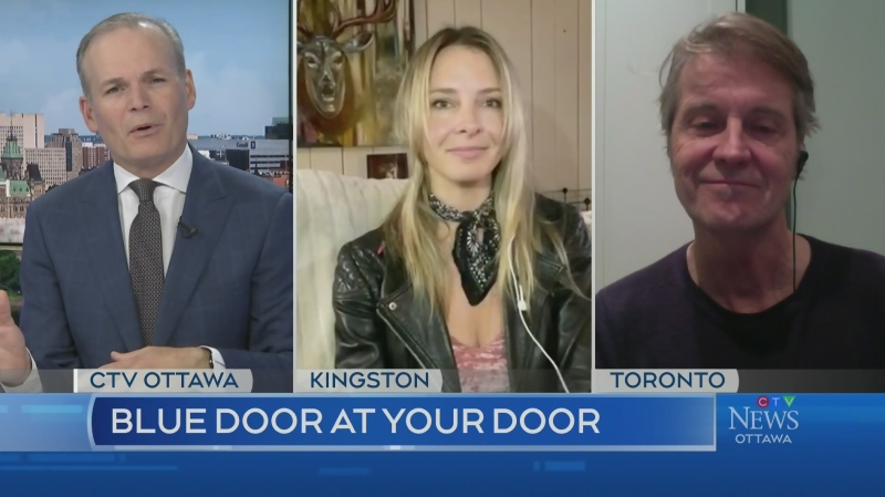 Artists on a Mission: Blue Door at your Door