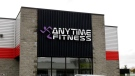 Anytime Fitness building sign
