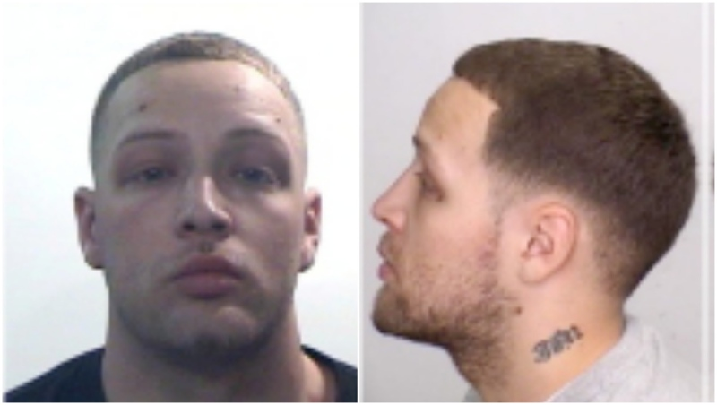 Jesse Michael Martinez, 35 who was wanted on Canada-wide warrants for second-degree murder, turned himself in to Calgary police Thursday afternoon. (Calgary police handout)