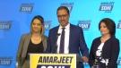 Amarjeet Sohi was elected mayor of Edmonton on Oct. 18, 2021, CTV News declared.