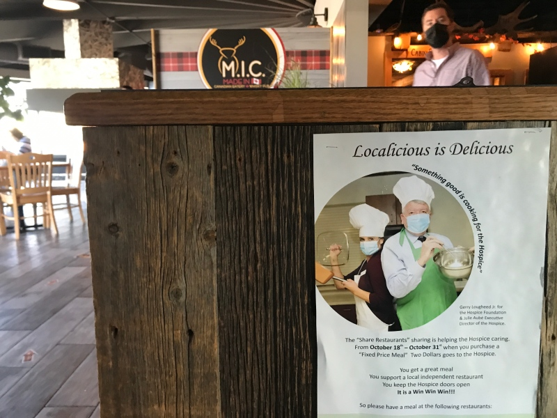 'Localicious is Delicious' campaign in back in Sudbury for the rest of October with money raised going to support the local hospice.