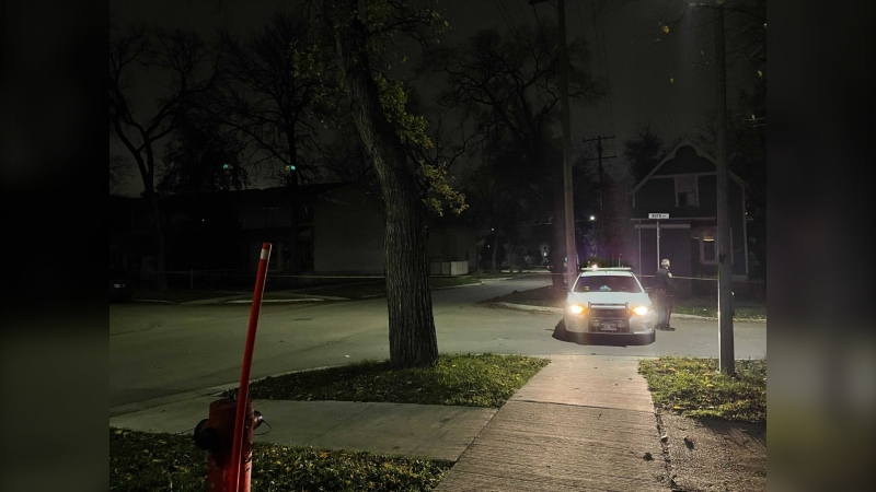 Police were called to the assault around 4:15 a.m. on Oct. 19. (Source: Ainsley McPhail/CTV News)