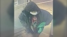 A man police believe is connected to an armed robbery that happened at the Shoppers Drug Mart Westmount Drive in Orillia on Sunday, October 17, 2021 (Courtesy:OPP)