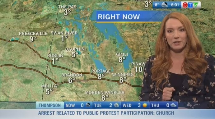 CTV Morning Live Weather Update for October 19
