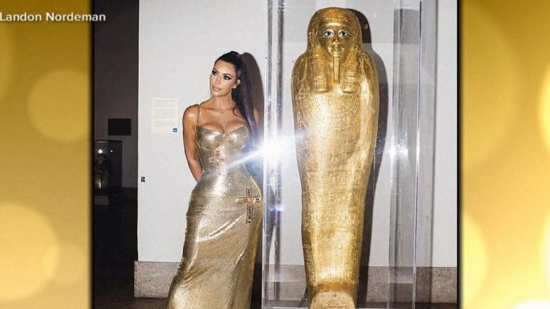 Kim Kardashian helping solve a case of a stolen Eg