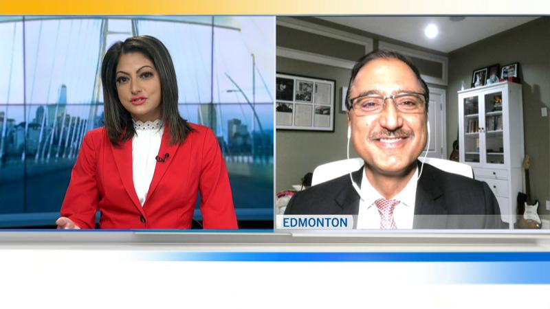 Amarjeet Sohi speaks to CTV Edmonton Morning Live on Oct. 19, 2021, as a fresh mayor elect.