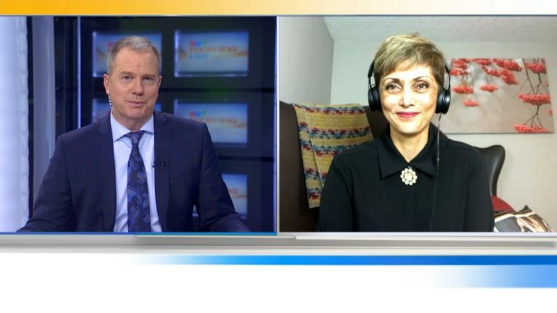 Calgary mayor-elect Jyoti Gondek speaks with Jefferson Humphries on CTV Morning Live