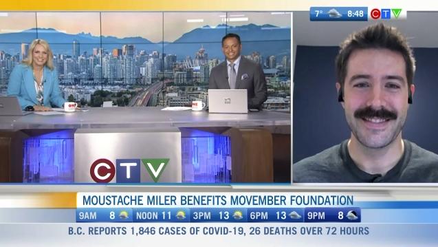 moustache miler benefits movember foundation