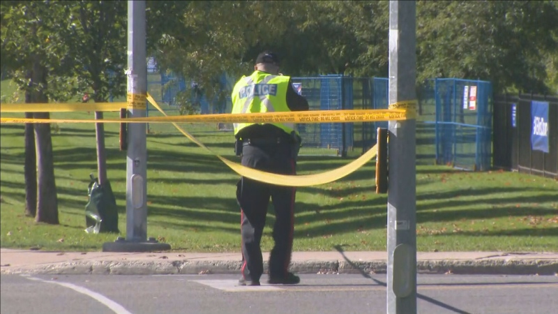 A 17-year-old girl has died after she was struck by a vehicle in Scarborough on Tuesday morning.