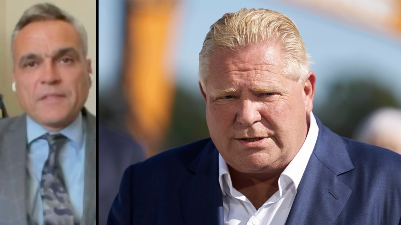 Benzie on Ford: 'Don't know what he was thinking'