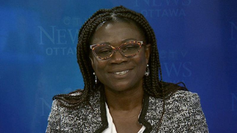Renée Amilcar is Ottawa's new general manager of transportation services. (CTV News Ottawa)