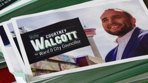 Newly-elected ward 8 Courtney Walcott is one of 11 new councillors that are heading to City Hall