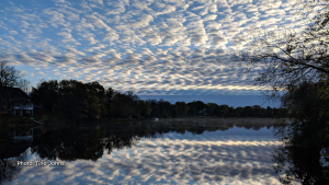 Morning mist and clouds over the Mississippi River - Almonte, ON. (Tina Johns/CTV Viewer)