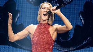 Singer Celine Dion performs during her first World Tour show called Courage Wednesday, September 18, 2019 at the Videotron Centre in Quebec City. THE CANADIAN PRESS/Jacques Boissinot