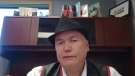 Norway House Cree Nation Chief Larson Anderson discusses community COVID-19 outbreak, October 19