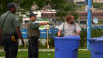 Vancouver park rangers are seen in a CTV News file image.