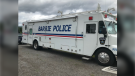 A Barrie police vehicle used for search and rescue purposes, taken on Wed., June 24, 2020 (Jim Holmes/CTV News)