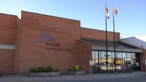 Porcupine Health Unit in Timmins. Oct. 20/21 (Lydia Chubak/CTV Northern Ontario)