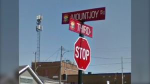 Mountjoy Street South and Third Avenue in Timmins (Google)