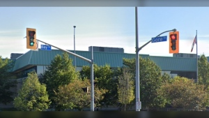 Intersection of Bay Street and Gore Street in Sault Ste. Marie (Google)