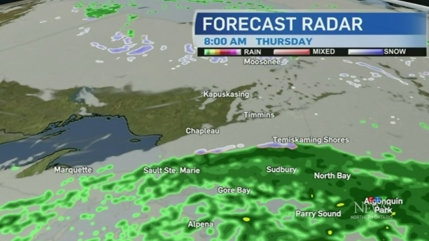 Rain and possible snow for some communities