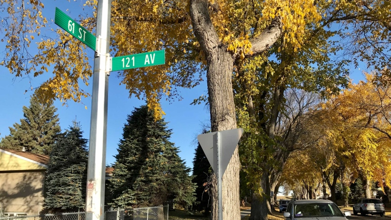 Police say just after 5:30 p.m. on Oct. 18, 2021, a man rang the doorbell of a home near 121 Avenue and 61 Street then forced himself inside and sexually assaulted an elderly woman.