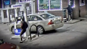 Couple ambushed, fatally shot at U.S. gas station