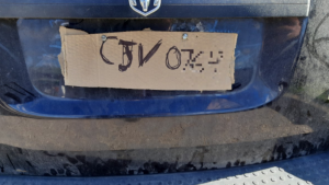 OPP West Region said the vehicle caught the eye of an Haldimand OPP officer on Monday while driving in Caledonia. (Twitter / @OPP_WR)