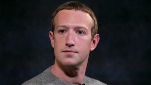 Oct. 25, 2019, file photo, Facebook CEO Mark Zuckerberg. (AP Photo/Mark Lennihan, File)