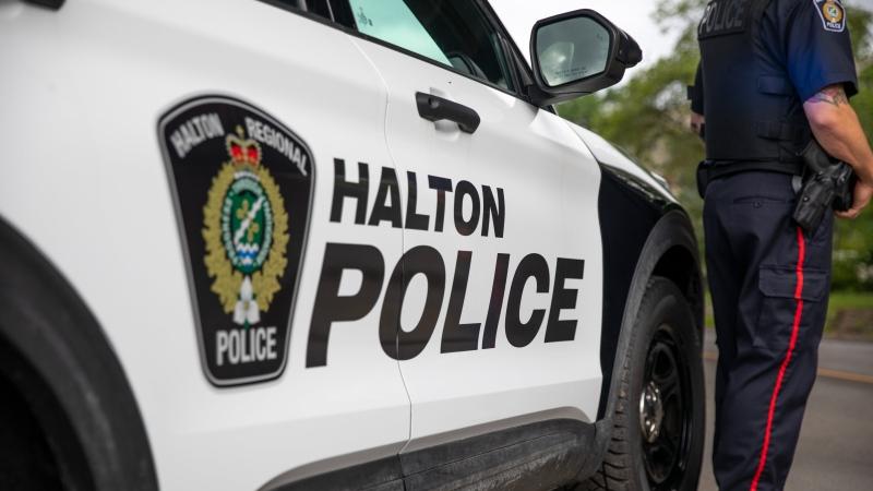 A Halton Regional Police cruiser is seen in this undated image. (Twitter/Halton Regional Police)