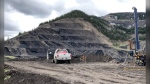 The Tent Mountain Mine is located in the Crowsnest Pass. (Montem Resources)