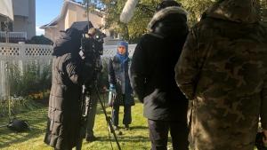 "A new comedy series titled ""Zarqa"" is being filmed in south Regina. (Mackenzie Read/CTV Regina)"
