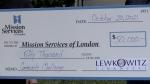 Londoners urged to match $50K shelter donation