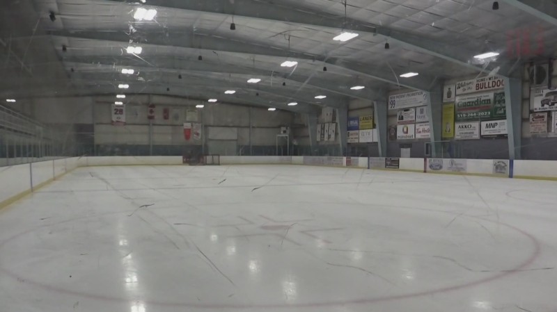 Should an ice pad be kept in Mount Brydges?