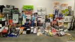 The stolen items included kitchen appliances and home improvement supplies, as well as various tools and machinery (West Kelowna RCMP).