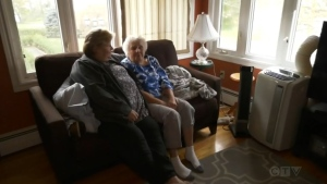 Rhonda Veniot lives in British Columbia, but on Wednesday was in Port Hawkesbury to care for her 78-year-old mother, who has a rare disorder.