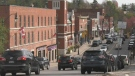 The Town of Bracebridge, Ont., on Wed., Oct. 20, 2021 (Rob Cooper/CTV News)