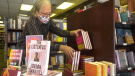 """Steve Budnarchuk at Audrey's Books believes this year will be """"totally different"""" when it comes to holiday shopping (Jeremy Thompson/CTV News Edmonton)."""