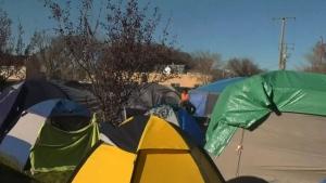 City seeks shelter for Pepsi Park residents