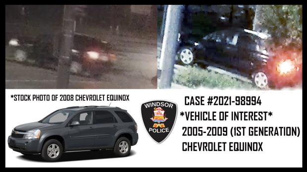 Vehicle 1. (Courtesy Windsor police)