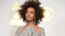 Solange's creative studio Saint Heron recently launched a free library with a focus on rare and out-of-print books by Black authors. (ROBYN BECK/AFP via Getty Images)