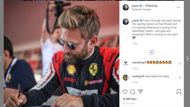 Canadian racing driver and Instagram influencer accused of 'massive fraudulent' scheme that defrauded investors of millions