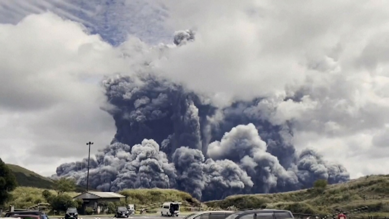 CTV National News: Volcano erupts in Japan