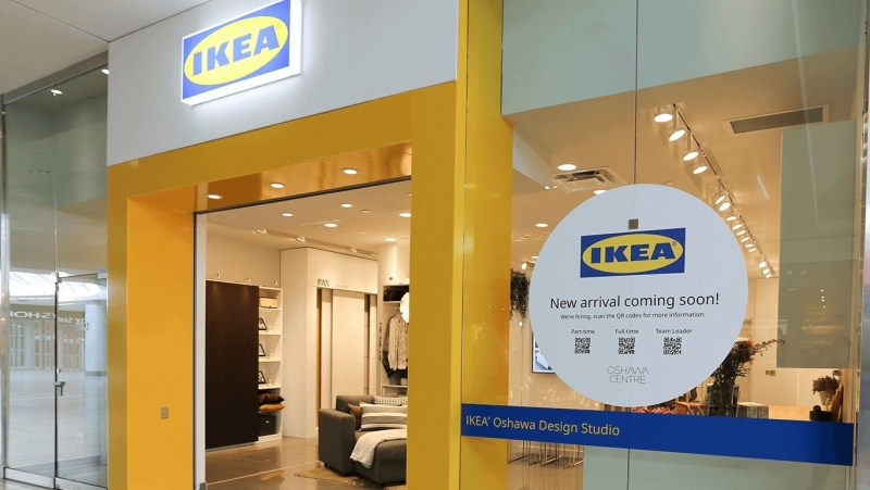 Ikea Canada, Design Studio in Oshawa, Ont. opened Sept 1, 2021.