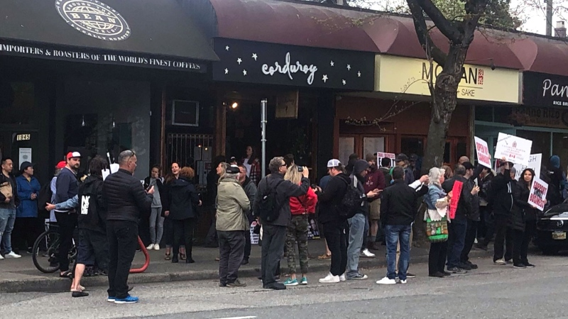 Defiant Vancouver eatery ordered to close
