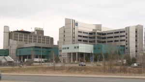 Health Sciences North in Sault Ste. Marie, Ont. Oct. 20, 2021 (Ian Campbell/CTV Northern Ontario)