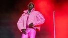 Young Thug performs on day four of the Lollapalooza Music Festival on Sunday, Aug. 1, 2021, at Grant Park in Chicago. (Photo by Amy Harris/Invision/AP)