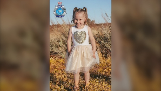 Australian authorities offer A million reward for missing 4-year-old Cleo Smith