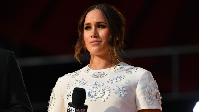 Meghan, Duchess of Sussex, is urging Congressional Democratic leadership to pass federal paid family and medical leave. (Erik Pendzich/Shutterstock via CNN)