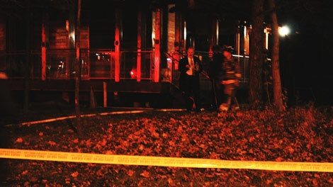 The Mahavihara Buddhist Meditation Centre, at 4698 Kingston Road, was hit by arson on Friday Nov. 27, 2009. Police say it was a hate-motivated attack.